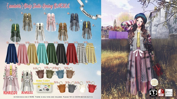{amiable}Girly_Spring_Tulle_Gacha