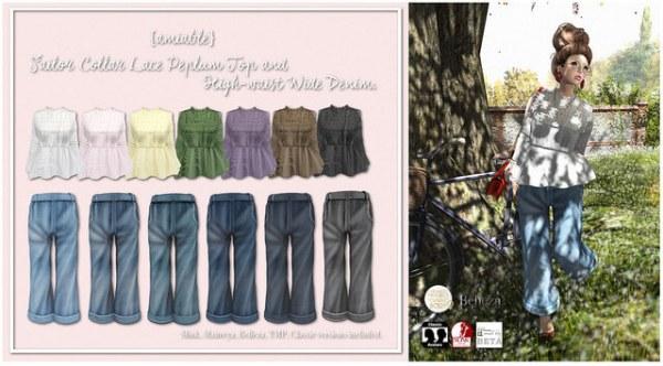 amiablesailor_collar_lace_peplum_toph-waist_wide_denim
