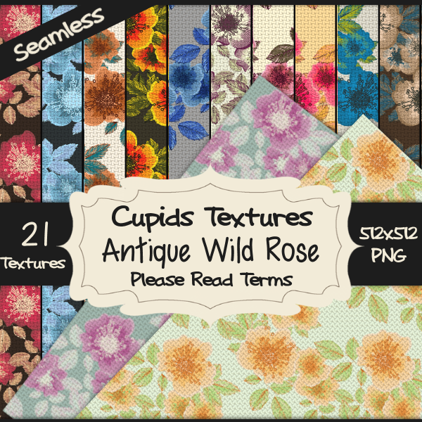 21 ANTIQUE WILD ROSE