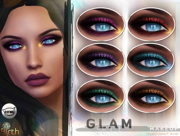 *Birth* Glam Makeup Set1