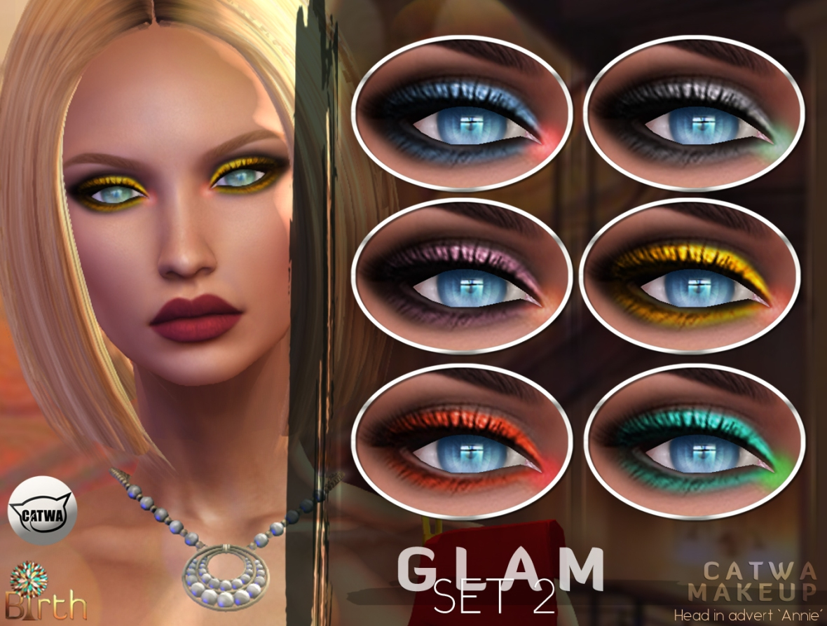 *Birth* Glam Makeup Set2