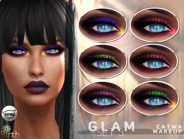 *Birth* Glam Makeup Set3