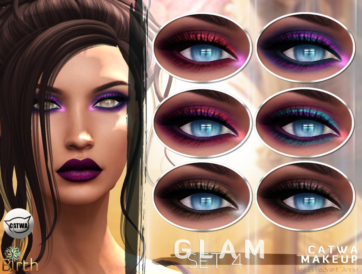 *Birth* Glam Makeup Set4