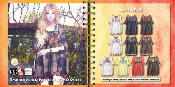 {amiable}Embroidered_Pattern_Boho_Summer_Dress2