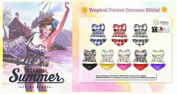 {amiable}Tropical_Flower_Summer_Bikini