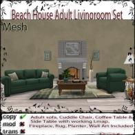 Beach House ADULT Livingroom Set