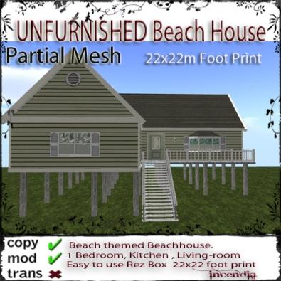 Unfurnished Beach House