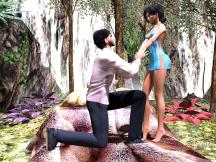 KiX Fur Chaise _ Marry Me