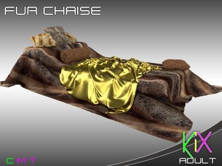KiX Fur Chaise [A]