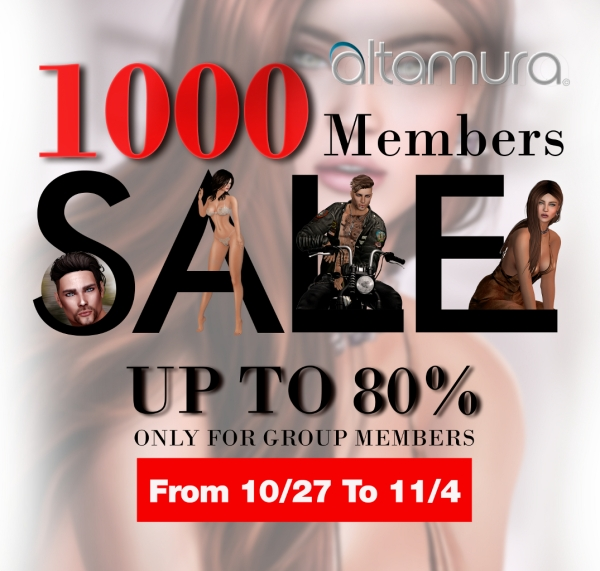 Altamura 1000 Group Members Sale