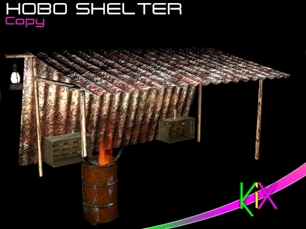 KiX Hobo Shelter