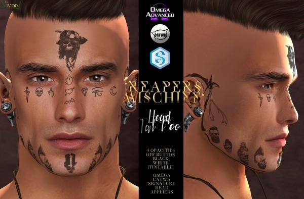 -Nivaro- 'Reaper's Mischief' Tattoo Appliers Advert