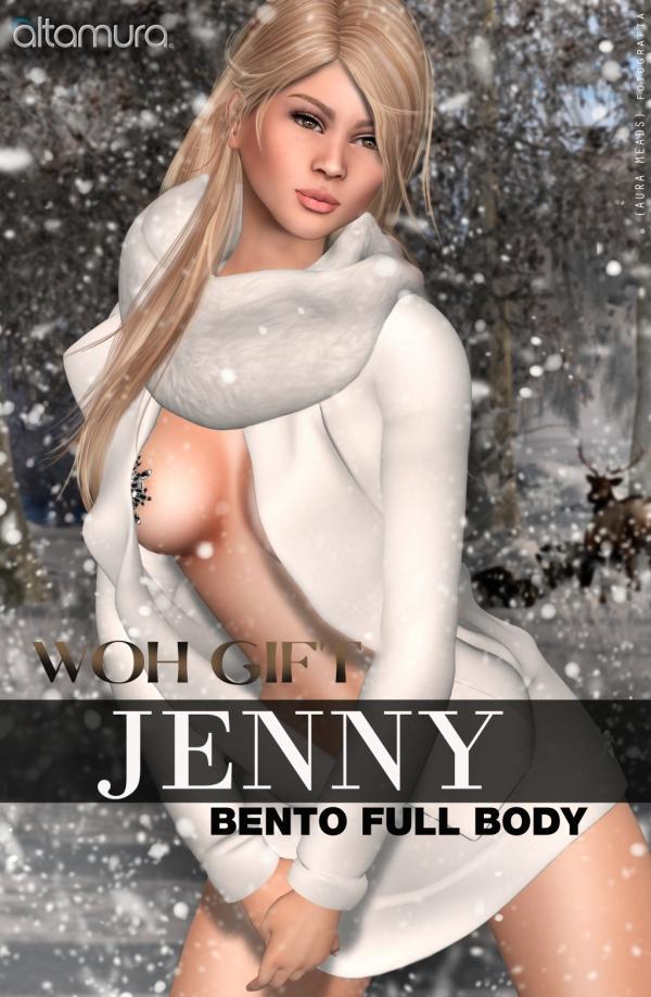 Altamura JENNY Bento Full Body WOH Gift