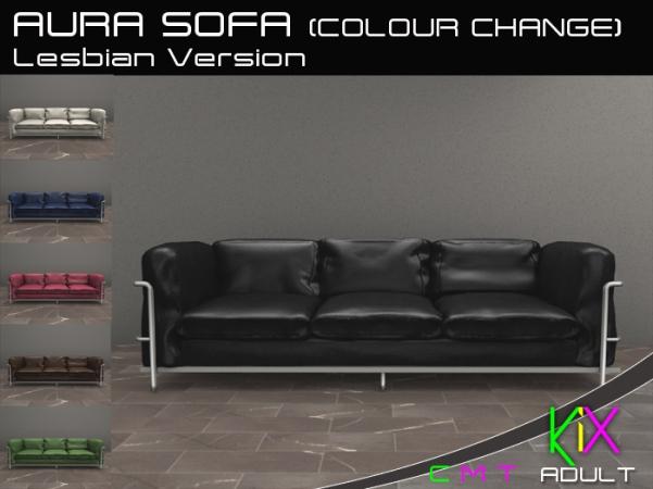 KiX Aura Sofa - Lesbian Version