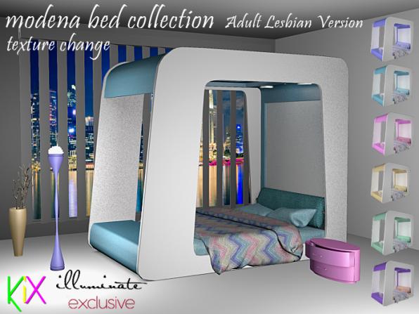 Kix Moden Collection - Adult Lesbian